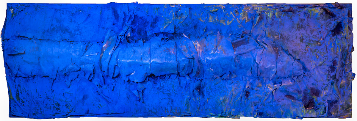 Wrapped Memorial, Blue No. 2